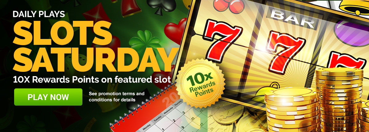 Slots Saturday - Play Now!