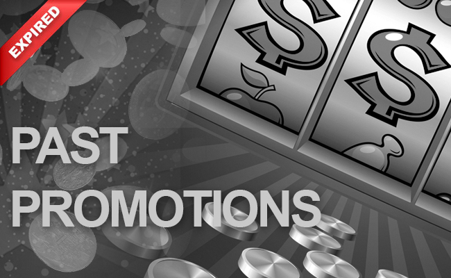 Past Promotions at CanPlay Casino
