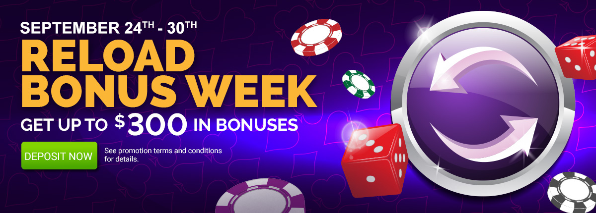 Reload Bonus Week