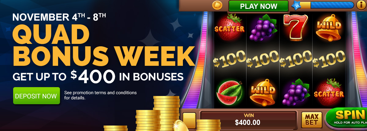 Quad Bonus Week