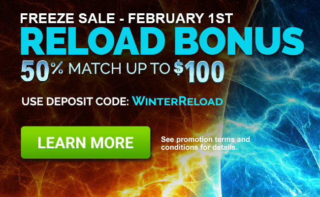February FREEZE sale at CanPlay