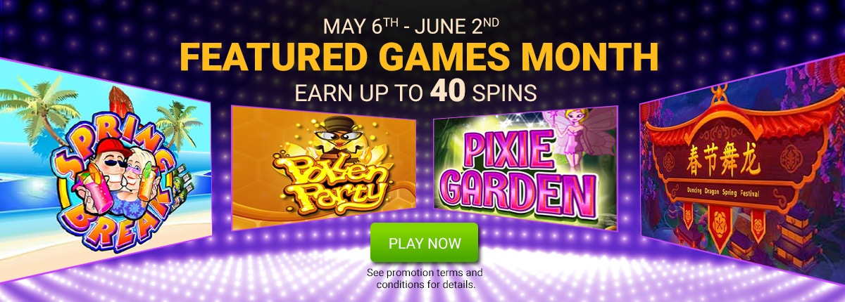 Featured Slots of the Month - Free Spins