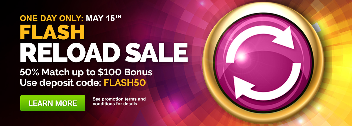 Flash50 Reload Bonus