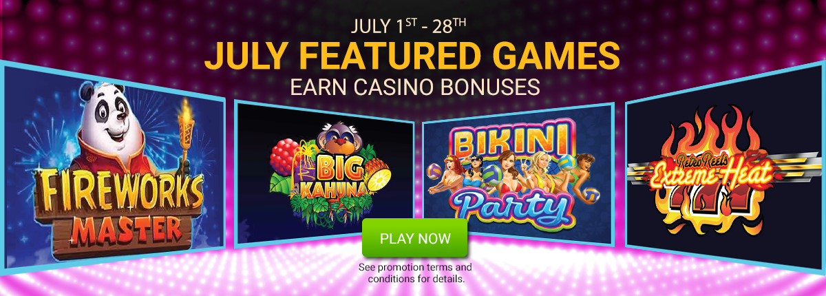 July Featured Games