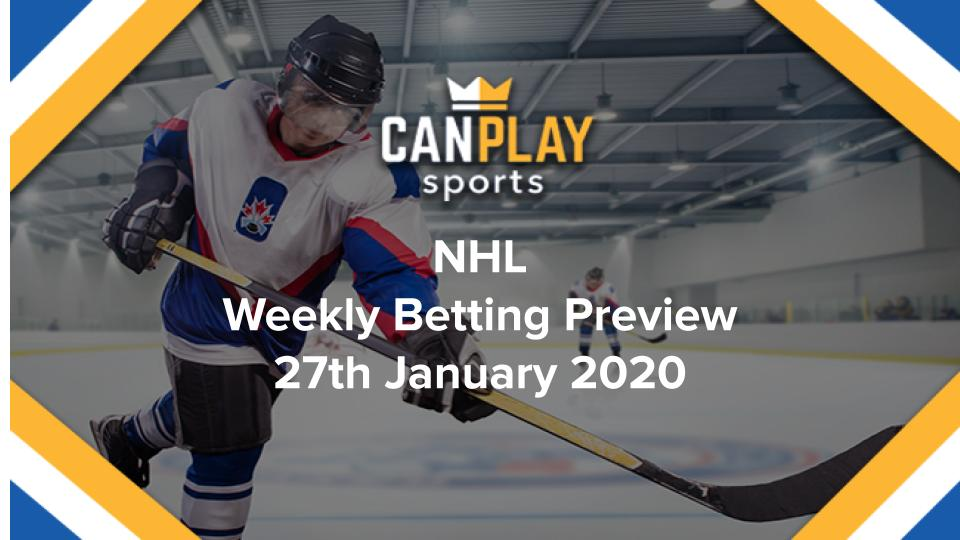 NHL Preview - 27th January 2020