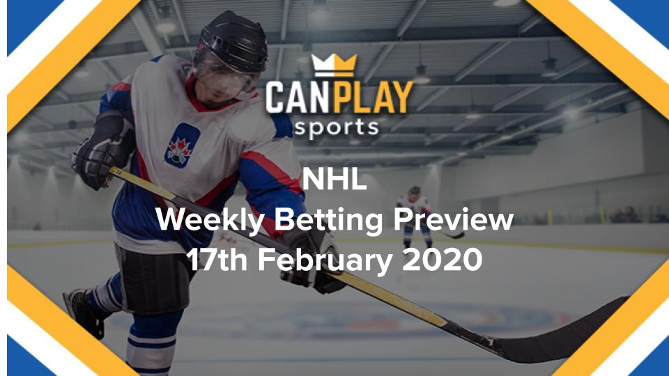 CanPlay Sports NHL Betting Preview