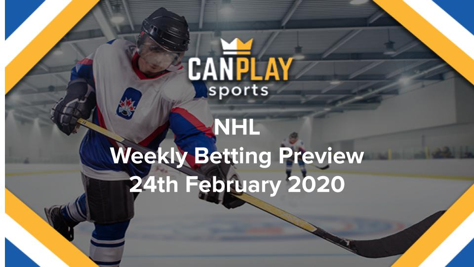 CanPlay Hockey - NHL Preview 24th February
