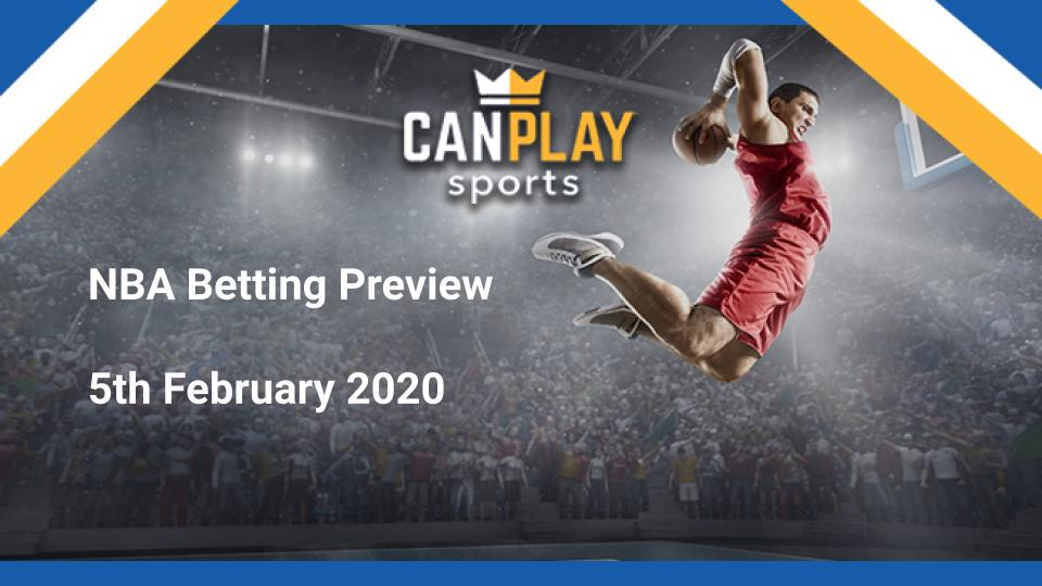 CanPlay Sports basketball betting dated February 2020