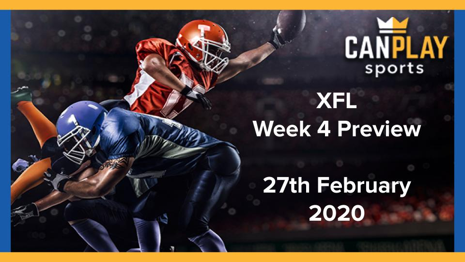 XFL Week 4 Preview - CanPlay Sports