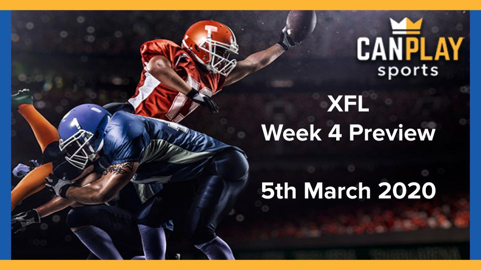 CanPlay XFL Week 5 Preview