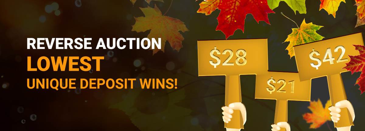 Thanksgiving Reverse Auction
