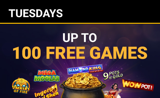 Up to 100 Free Games